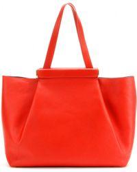 Nina Ricci Thais Leather Shopper - Lyst