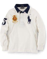 Ralph Lauren - Raglan Long-sleeve Rugby - Lyst