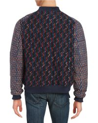 Lucio Castro - Patterned Bomber Jacket - Lyst