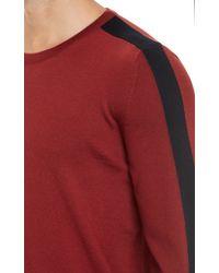 Balenciaga Contraststripe Pullover Sweater - Lyst