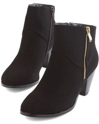 Shoe Magnate Inc Forever and Clever Bootie - Lyst