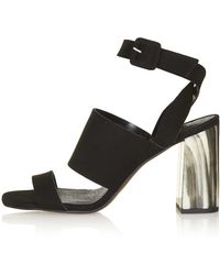 Topshop | Randal High Sandals | Lyst