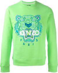 Kenzo Red 'Tiger' Sweatshirt - Lyst
