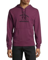 Original Penguin Logoprint Hooded Pullover - Lyst