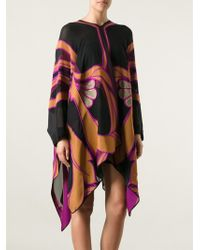 Gucci Floral Panelled Kaftan Dress - Lyst