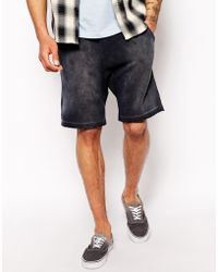 Diesel Sweat Shorts Pascalesha - Lyst