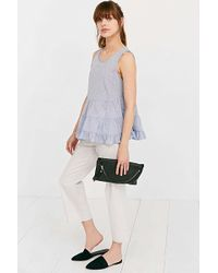 Cooperative Tiered Tank Top - Blue