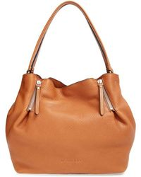 Burberry | Medium Maidstone Leather Tote | Lyst