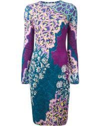 Peter Pilotto Digital Print Dress - Lyst