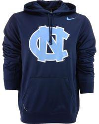 Nike Mens North Carolina Tar Heels Warp Performance Hoodie - Lyst
