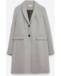 Zara | Masculine Coat | Lyst