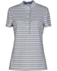 Tory Burch T-Shirt gray - Lyst