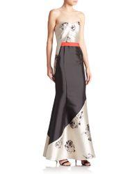 Sachin & Babi Noir Suri Strapless Mermaid Gown - Lyst