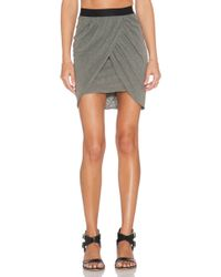 Stateside - Draped Mini Skirt - Lyst