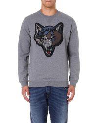 Diesel S-tusti Cotton Sweatshirt - Lyst
