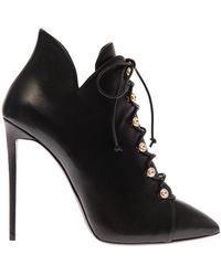 Giuseppe Zanotti Lea Lace-Up Ankle Boots - Lyst