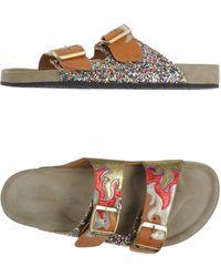Étoile Isabel Marant Sandals - Metallic