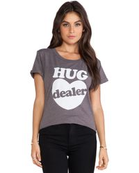 Local Celebrity - Hug Dealer Tee - Lyst