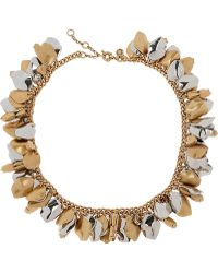 J.Crew - Crystal Icicle Pendant Necklace - Lyst