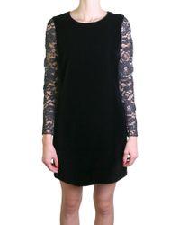 Saint Laurent | Black Lace Dress | Lyst