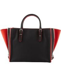 Balenciaga Papier Mini Leather Tote Bag - Lyst