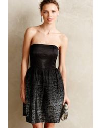 Shoshanna Marianna Metallic Jacquard Dress - Lyst