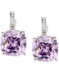 City By City - Amethyst Cubic Zirconia Square Drop (13-3/4 Ct. T.w.) - Lyst