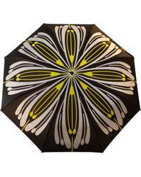 Raindance Umbrellas Flores Yellow & Silver - Multicolour