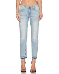 Current/Elliott The Cropped Straight - Lyst