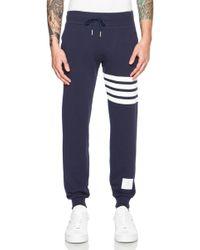 Thom Browne Men'S Cotton Sweatpant - Lyst