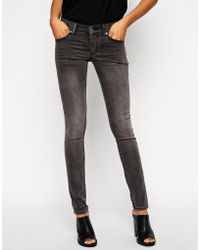 Cheap Monday Black Shade Narrow Jeans - Lyst