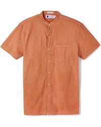 Industry of All Nations - Madras Mao Shirt - Lyst