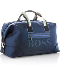 BOSS Green Waterrepellent Weekender Vibes - Blue