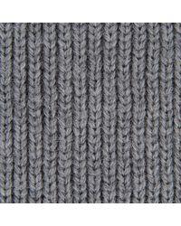 Stella McCartney Blanket Ribs Gloves - Gray