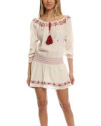 Loveshackfancy   Smocked Peasant Dress   Lyst