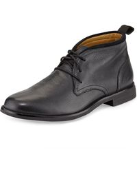 Cole Haan Curtis Chukka Leather Laceup - Lyst