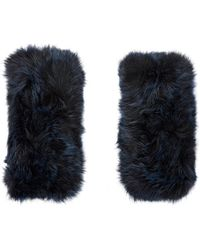 Barneys New York | Fur Hand Warmers | Lyst