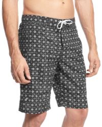 Tommy Hilfiger Daisy Squares Boardshort - Lyst