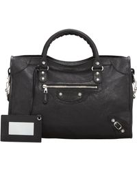 Balenciaga Giant 12 Nickel City Bag - Lyst