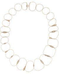 Fernando Jorge | 18karat Rose Gold Diamond Necklace | Lyst