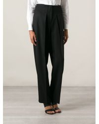 3.1 Phillip Lim High Waisted Trousers - Lyst