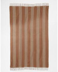 Asos Oversized Stripe Scarf - Lyst