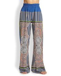 Clover Canyon Cotton High-Waist Pants - Lyst