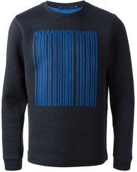 Alexander Wang Dripping Logo Sweatshirt - Lyst