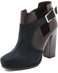 Surface To Air Double Layer Booties  Navyblack - Lyst