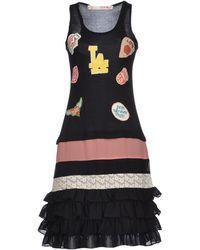 Eyedoll - Knee Length Dress - Lyst