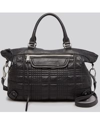 She + Lo - Satchel - Quilted Live It Up - Lyst
