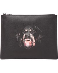 Givenchy Men'S Rottweiler Large Pouch - Lyst