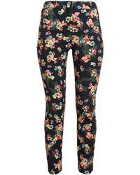 Erdem - Cotton-Blend Floral Print Trousers - Lyst