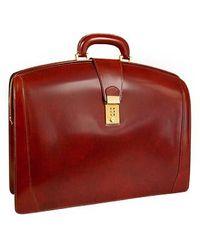 Pratesi - Brunelleschi Italian Leather Briefcase - Lyst